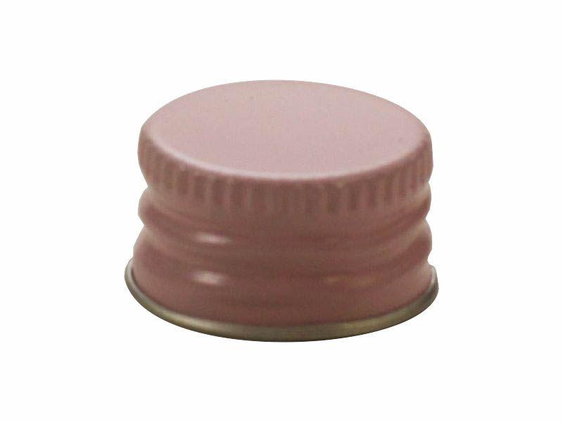 Tampa de alumínio rosa baby R20