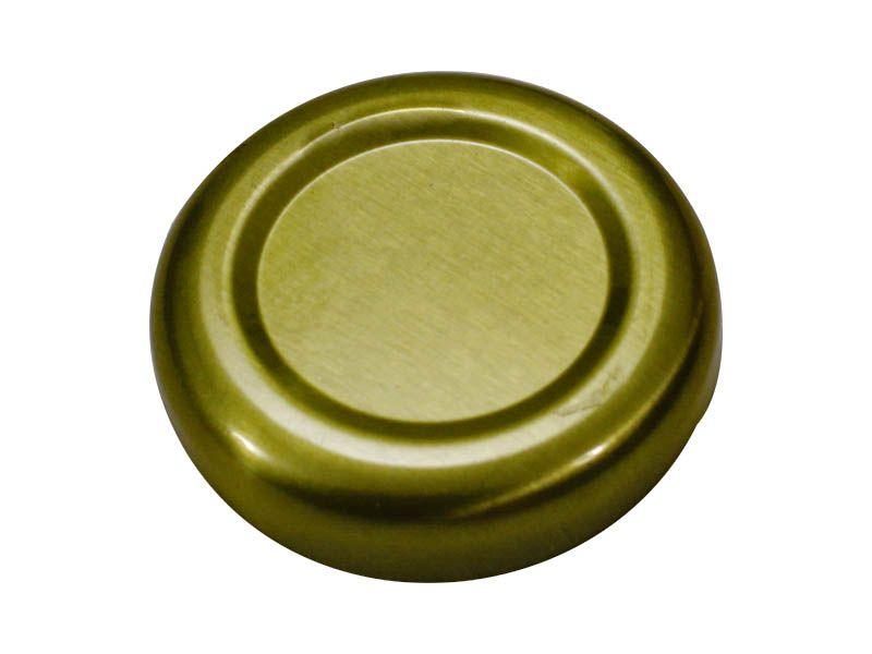 Tampa dourada para vidro de conserva 38mm