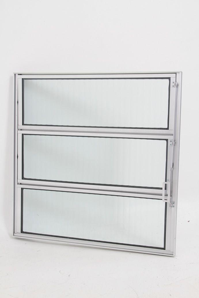 Basculante 1 Seção Vidro Boreal Linha 16