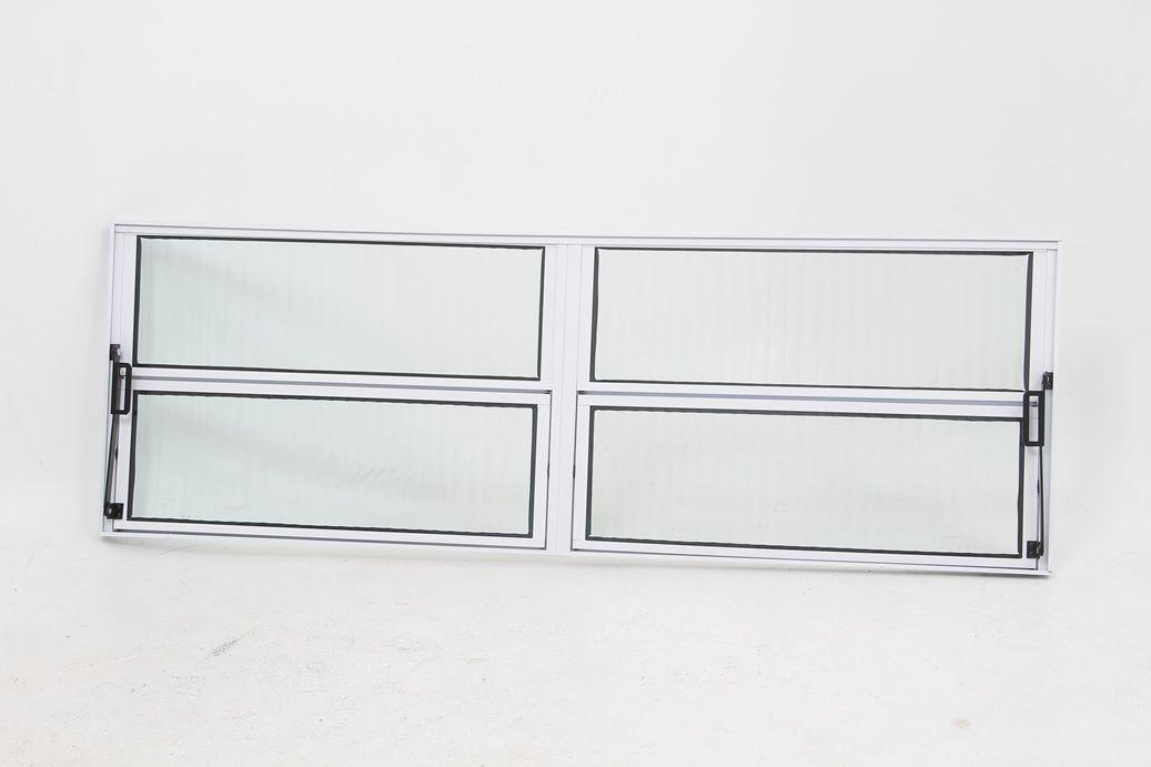 Basculante 2 Seções Vidro Boreal Linha 16