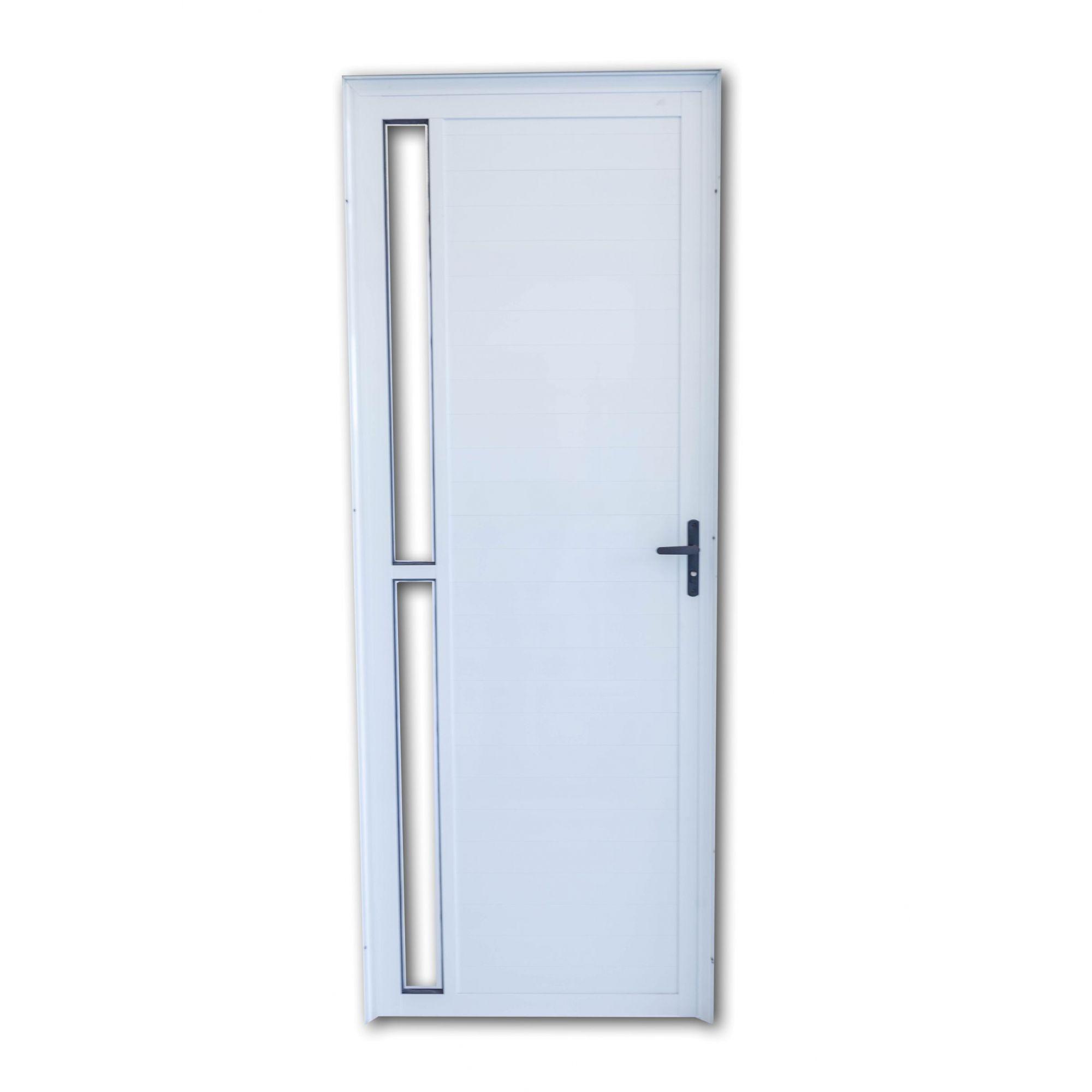 Porta Lambril BRANCA Com Vidro Lateral Linha Premium