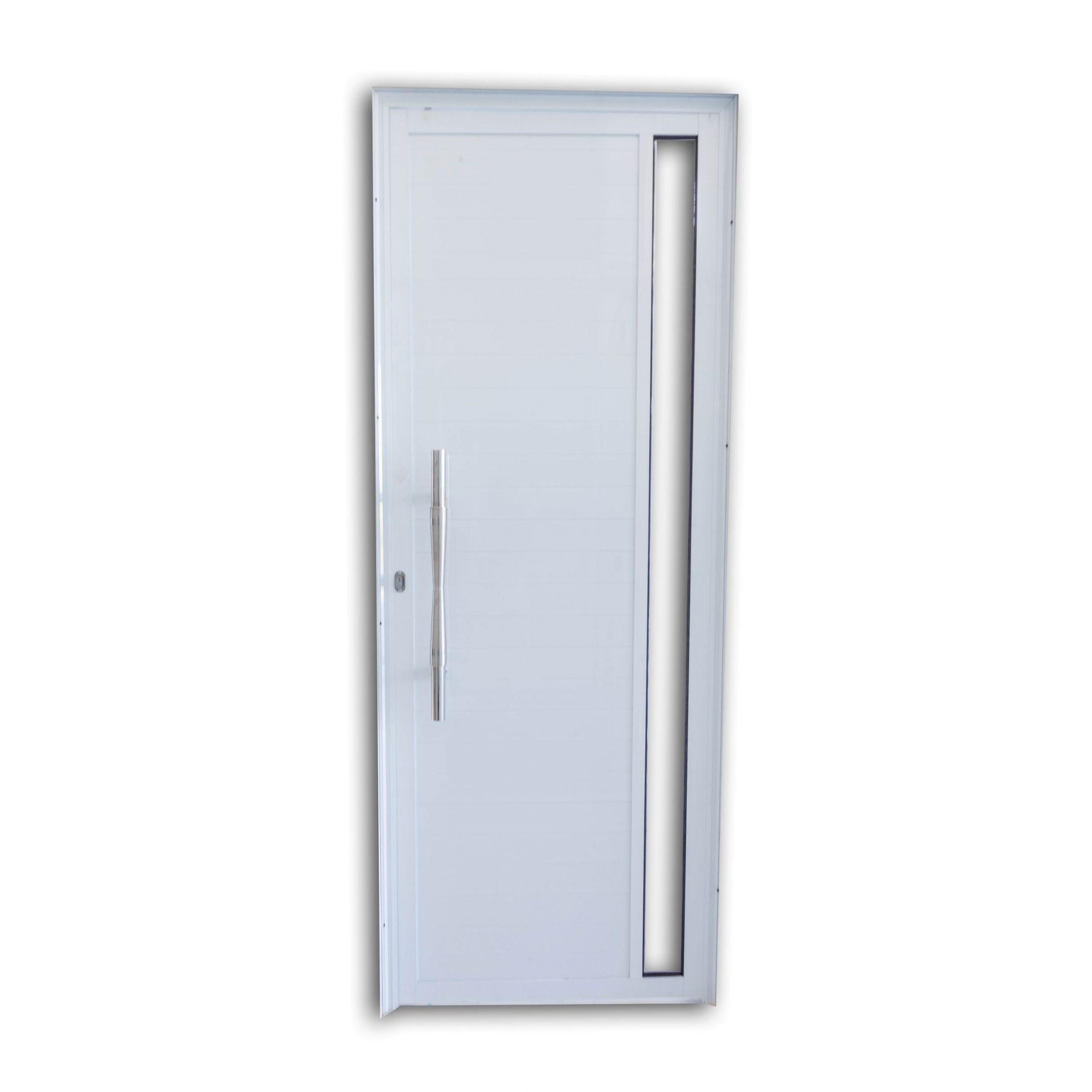 Porta Lambril Luxo com Puxador e Vidro Inteiro Linha Premium
