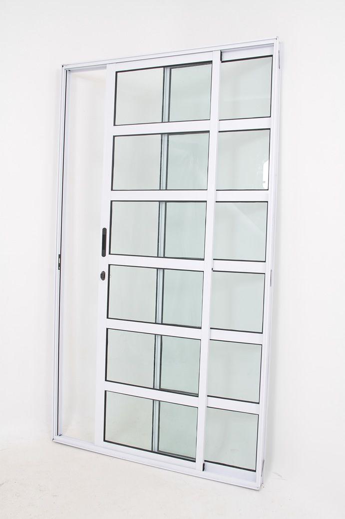 Porta Sacada Travessa 2 Folhas Linha Premium
