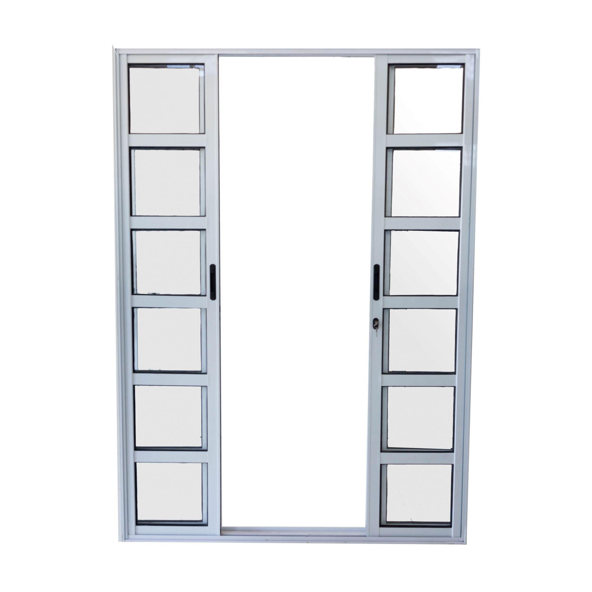 Porta Sacada Travessa 4 Folhas Linha Premium
