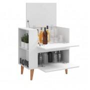 Armário Multiuso Bar com  Basculante Drink 1001 Branco