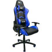 Cadeira Gamer MX5 Giratória 9175 Preto e Azul