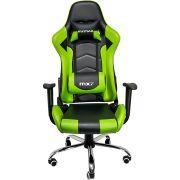 Cadeira Gamer MX7 Giratoria 8789 Preto/Verde