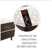 Cama Box Casal com Base Colchão e Massageador 198x158 cm Pasión Probon