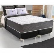 Cama Box Queen Size com Base Colchão e 138x188 cm Conforto Probon