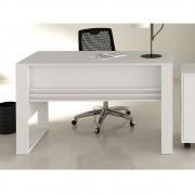 Escrivaninha com Revisteiro Lateral ME4146 Branco Tecno Mobili