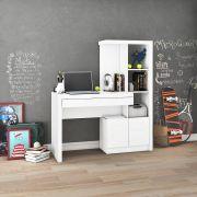 Estante Escrivaninha ME4143 Home Office Tecno Mobili Branco
