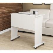 Mesa Dobrável com Rodízio ME4117 Tecno Mobili Branco