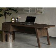 Mesa para Escritório com 2 Gavetas ME4122 Tecno Mobili Rústico