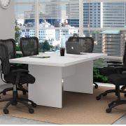 Mesa Reunião para Escritório ME4119 Tecno Mobili Branco