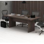 Mesa Reunião para Escritório ME4119 Tecno Mobili Carvalho