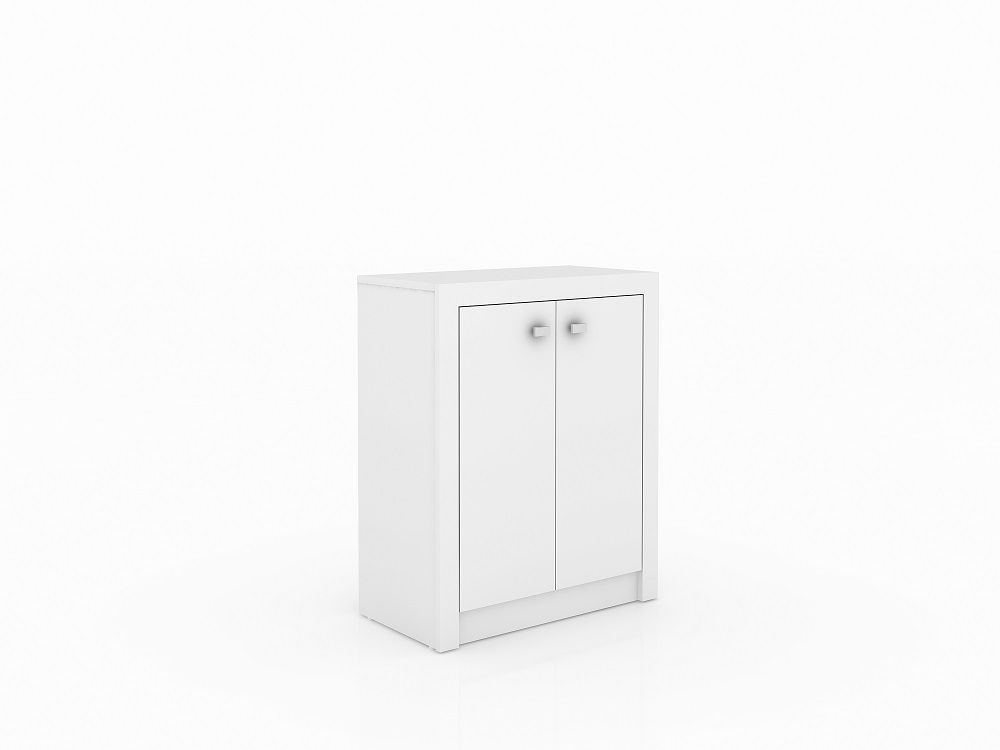 Armário Baixo 2 Portas ME4103 Tecno Mobili Branco