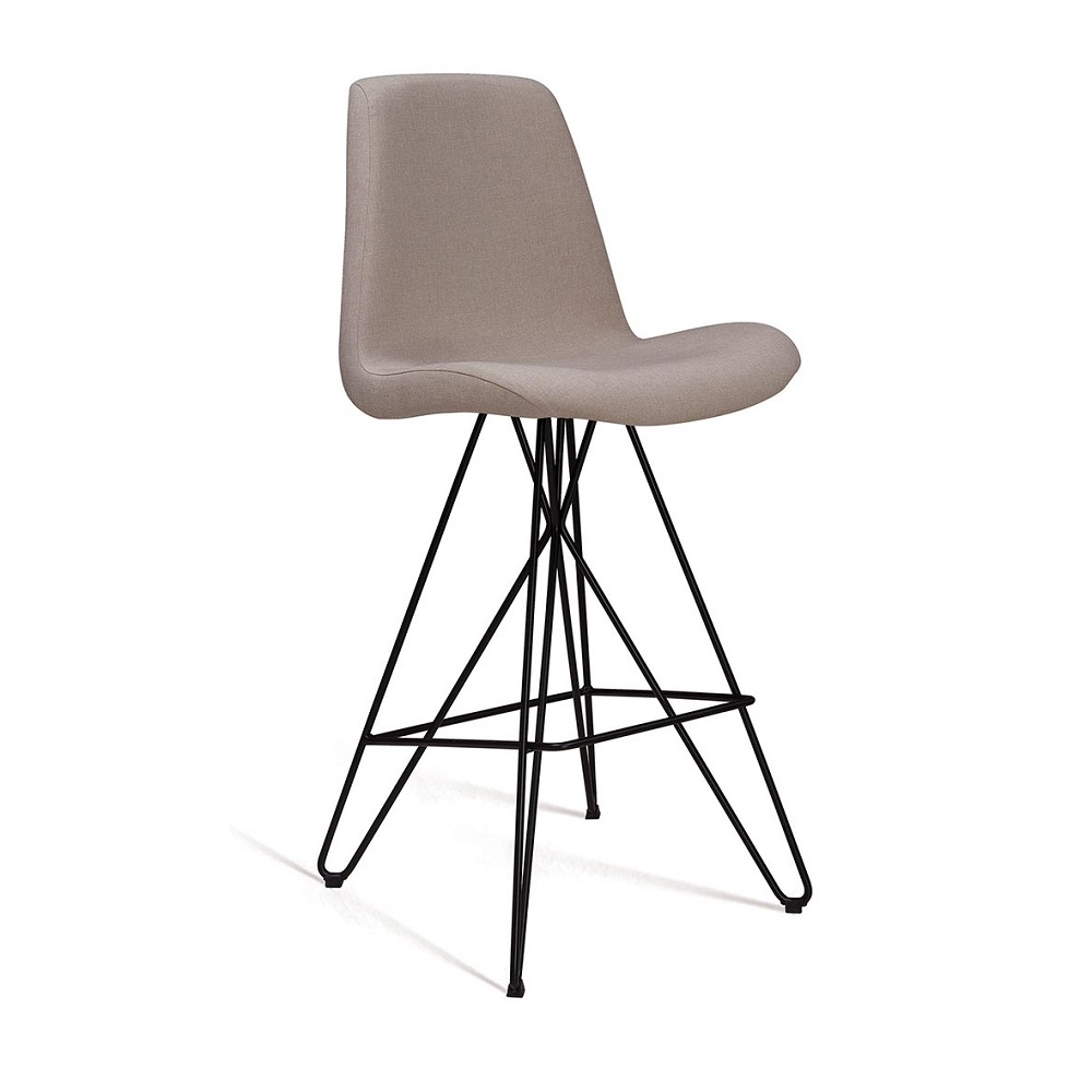 Banqueta Eames Butterfly F103 Bege