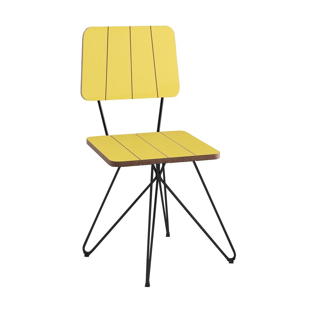 Cadeira Costela F52 Amarelo