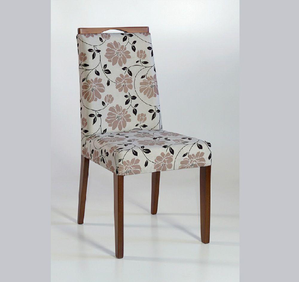Cadeira Estofada Angra com Aplique Dorigon Tecido B229