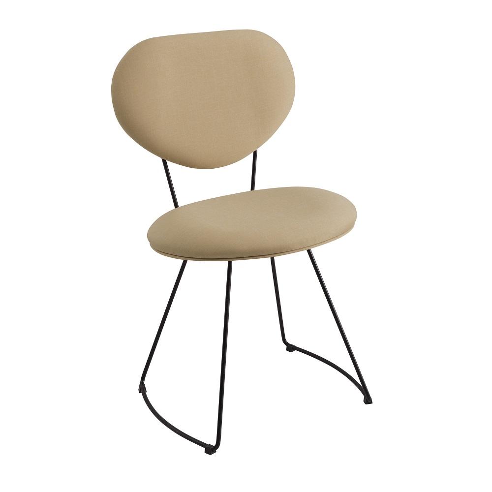 Cadeira Estofada Milão F42 Bege