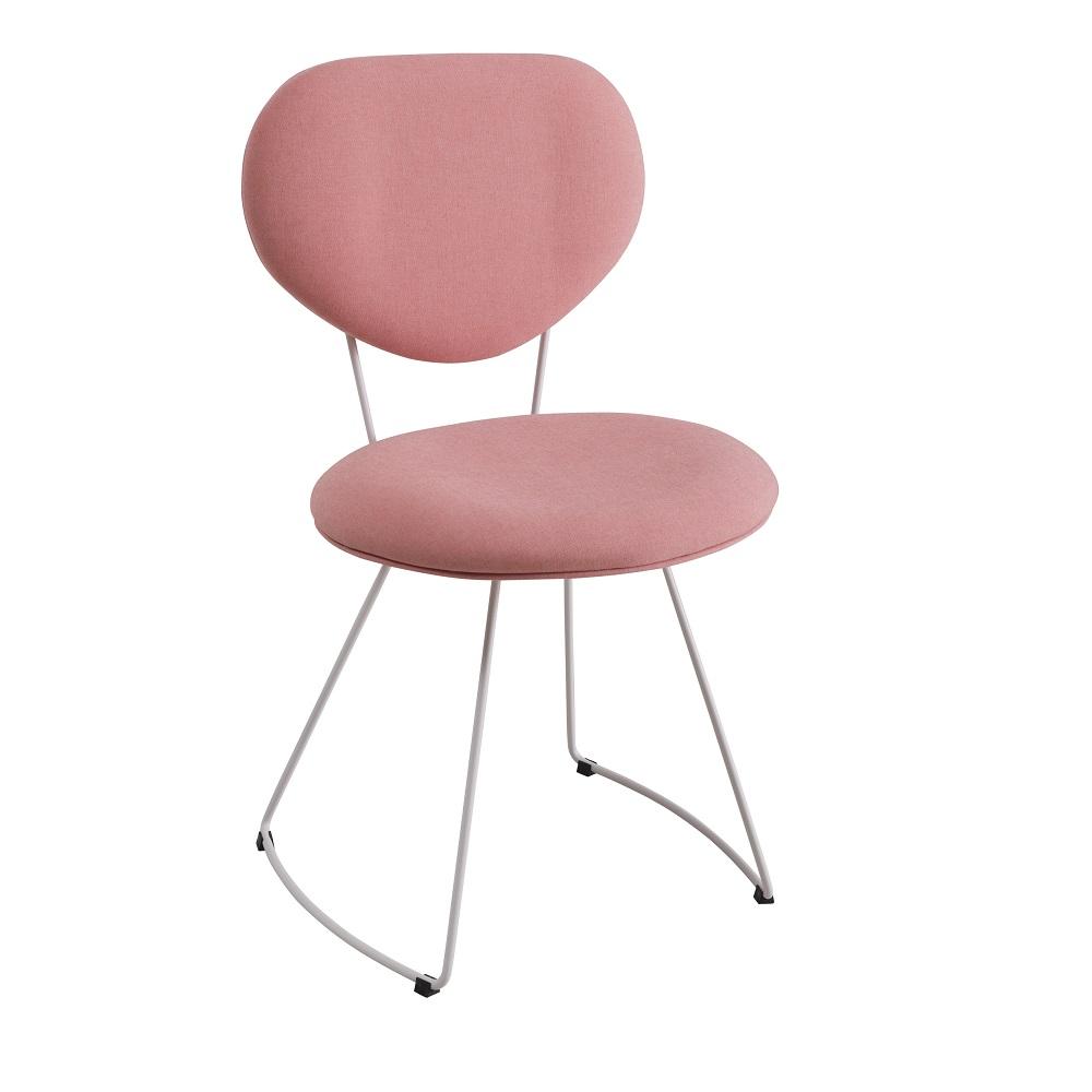 Cadeira Estofada Milão F42 Coral