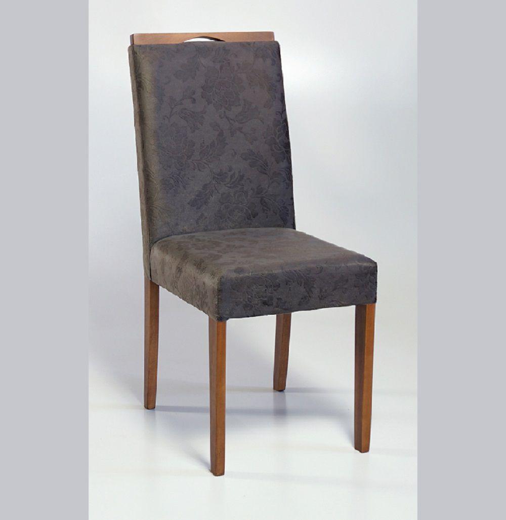 Cadeira Estofada Nirvana com Aplique Dorigon Tecido B224