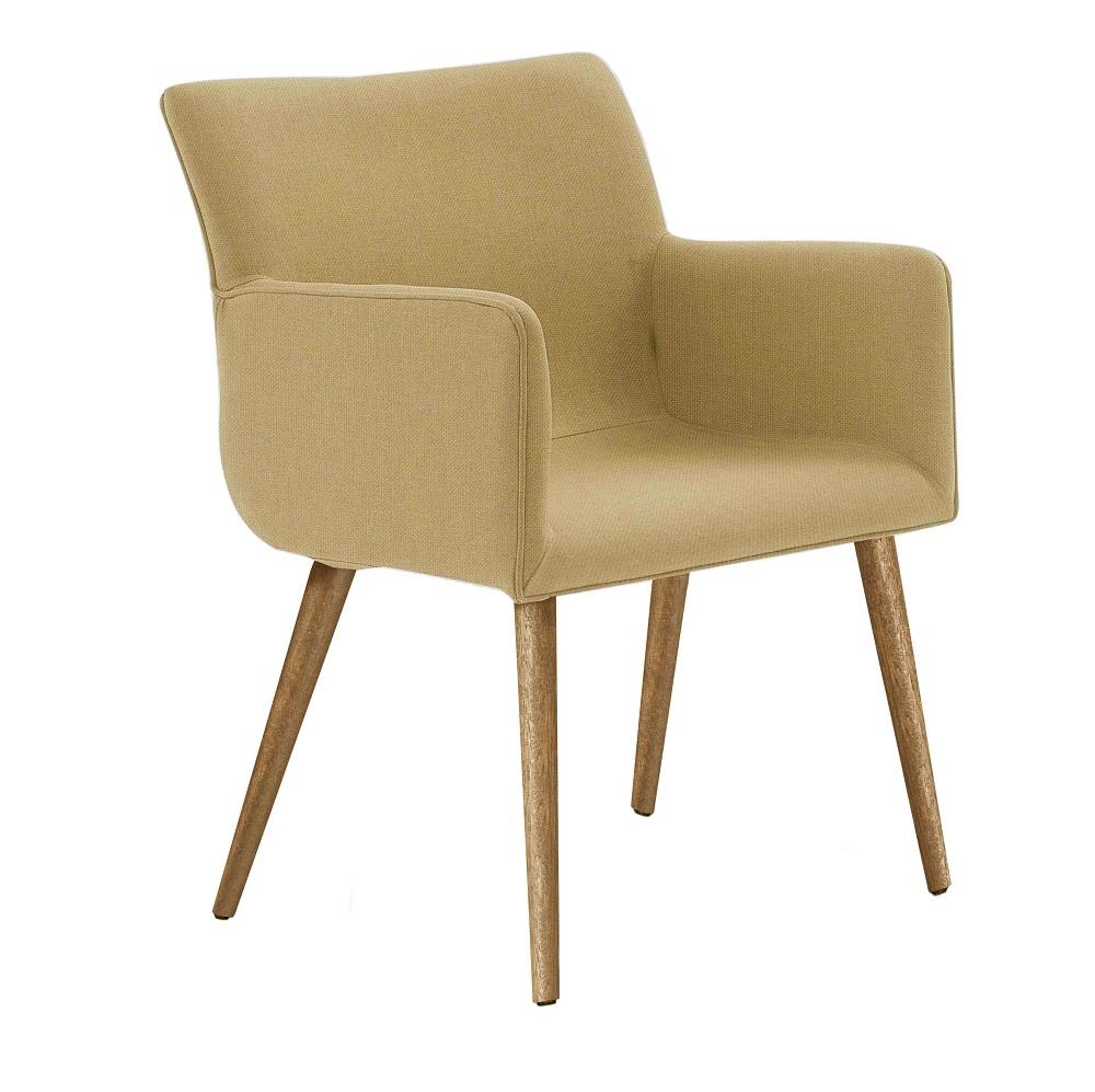 Cadeira Estofada Pinotage 8006 Amarelo