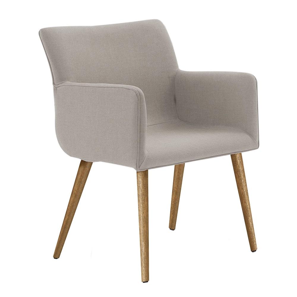 Cadeira Estofada Pinotage 8006 Bege