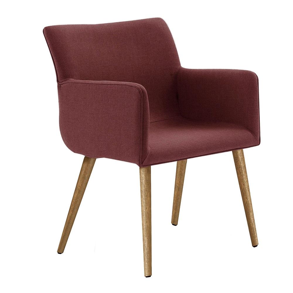 Cadeira Estofada Pinotage 8006 Marsala