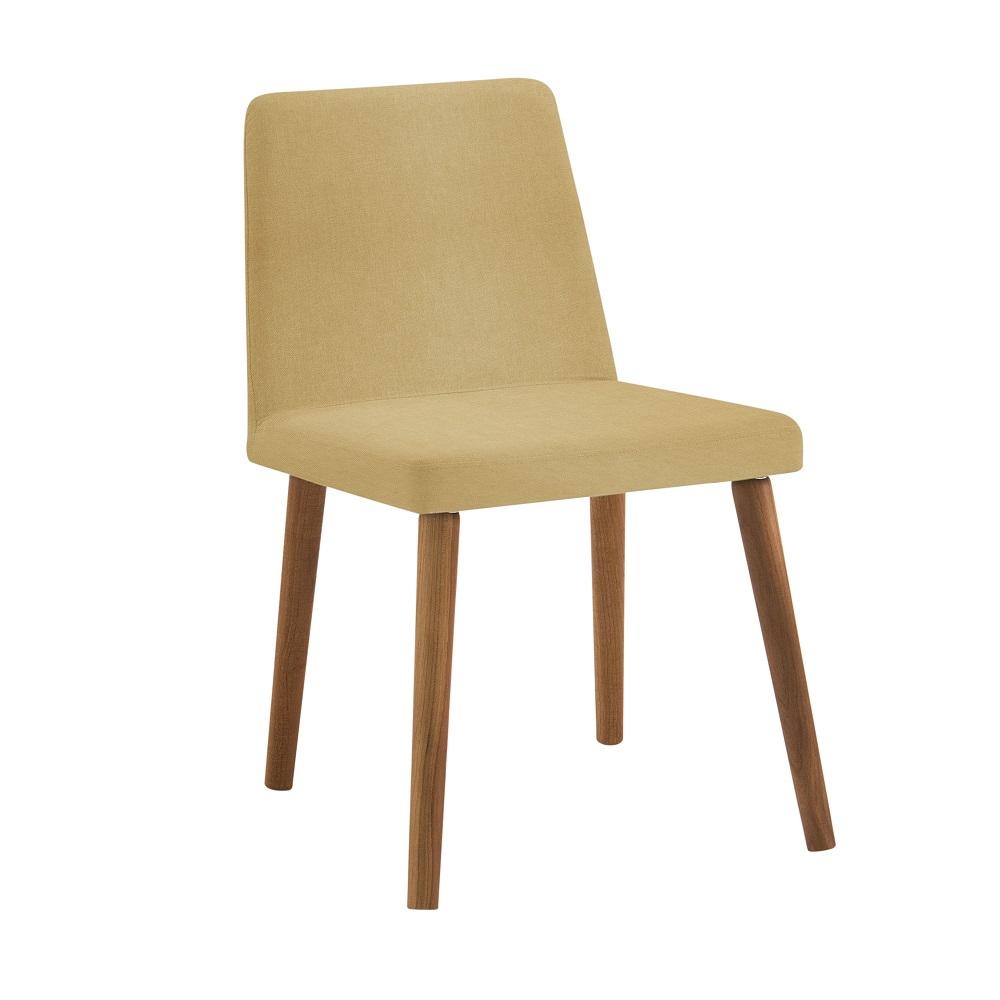 Cadeira Estofada Pri F54 Amarelo