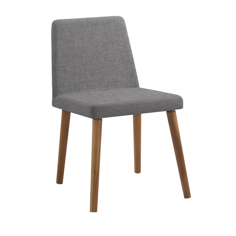 Cadeira Estofada Pri F54 Cinza