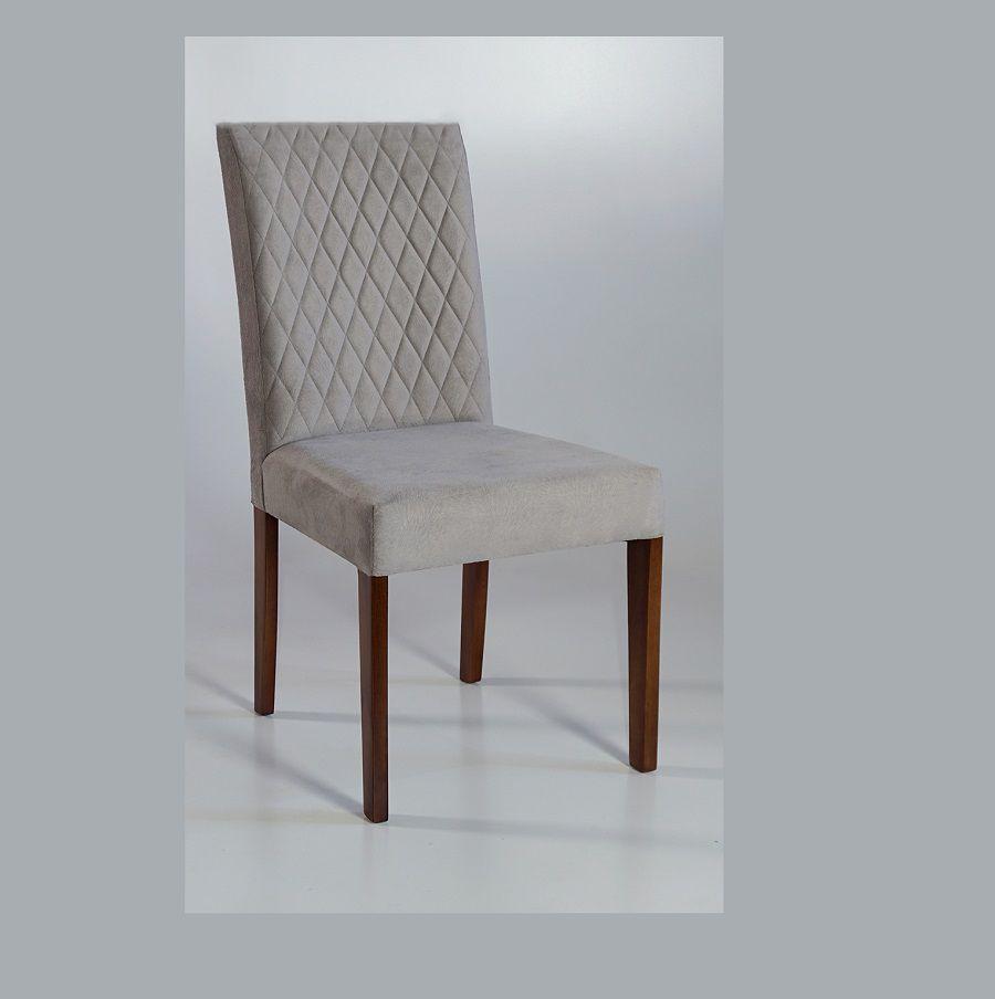 Cadeira Estofada Queen Dorigon Tecido A118