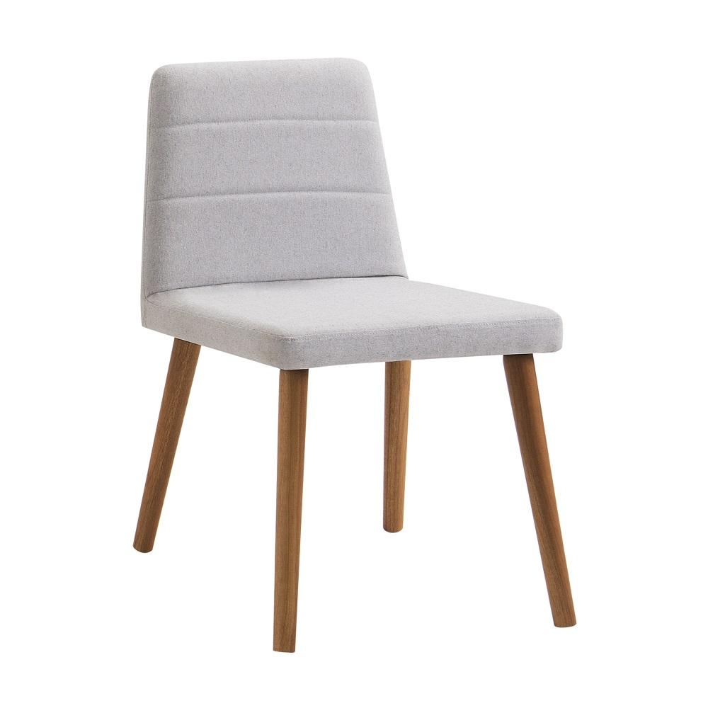 Cadeira Estofada Yasmin F58 Cinza