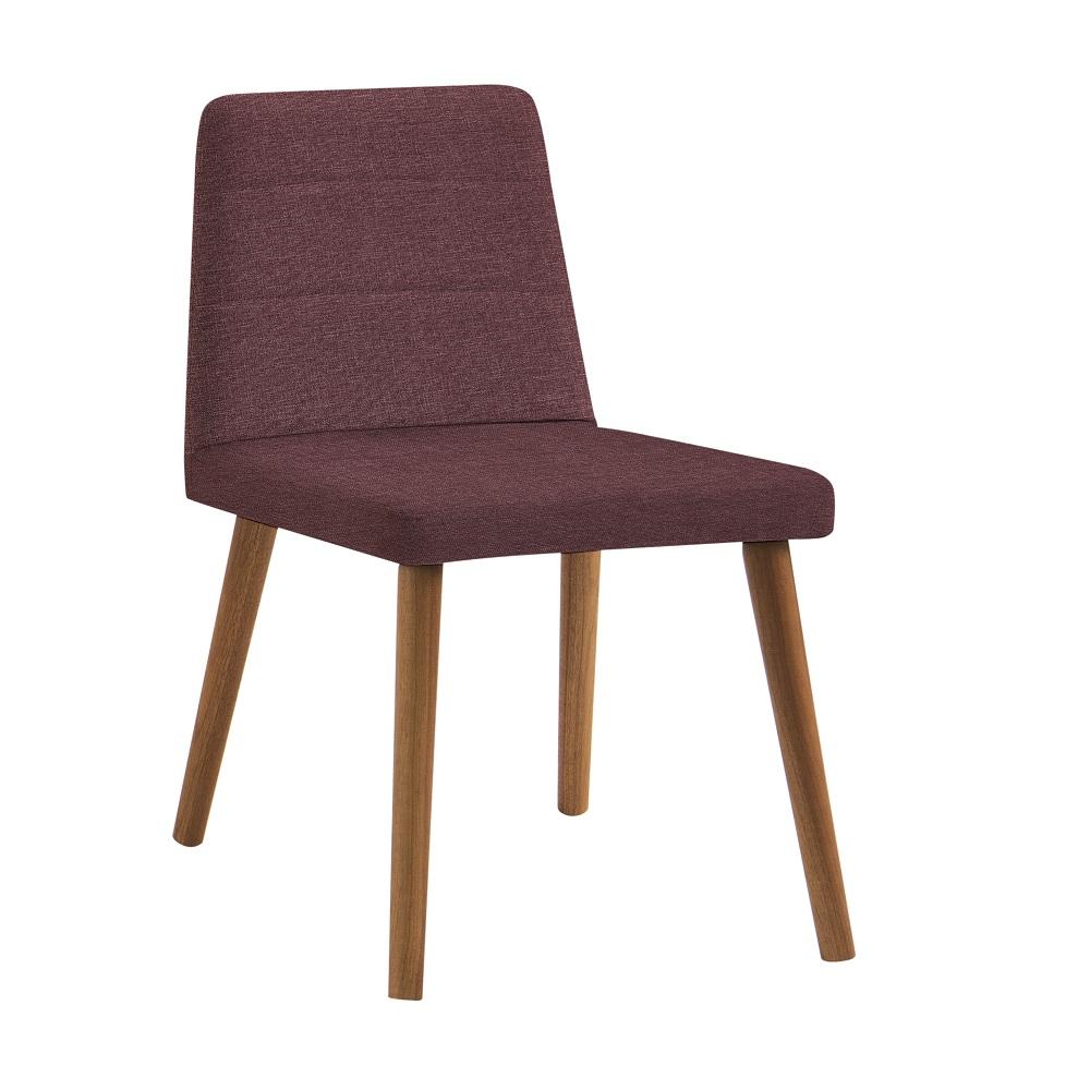 Cadeira Estofada Yasmin F58 Marsala