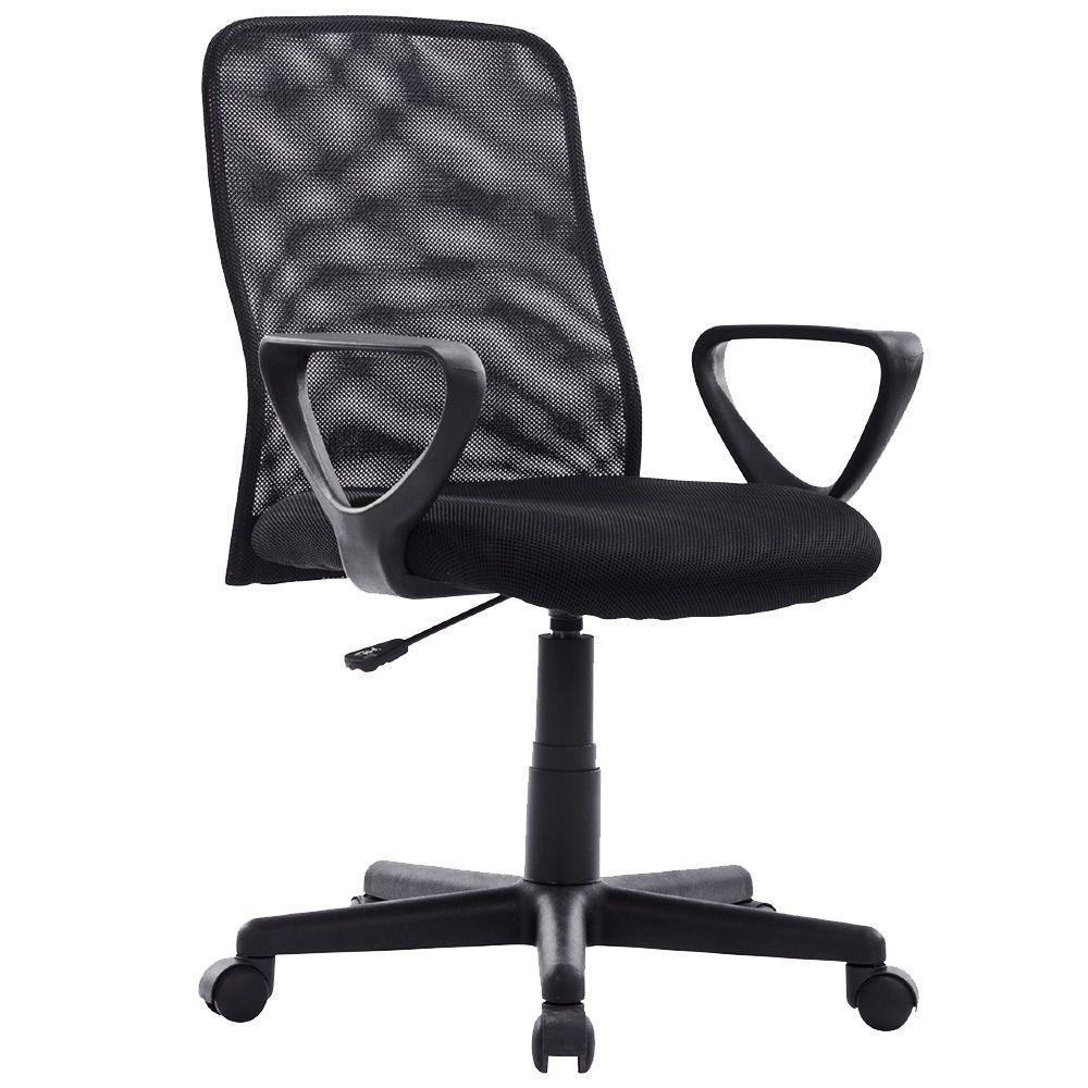 Cadeira Executiva Mesh Giratoria 8920 Mymax Preta