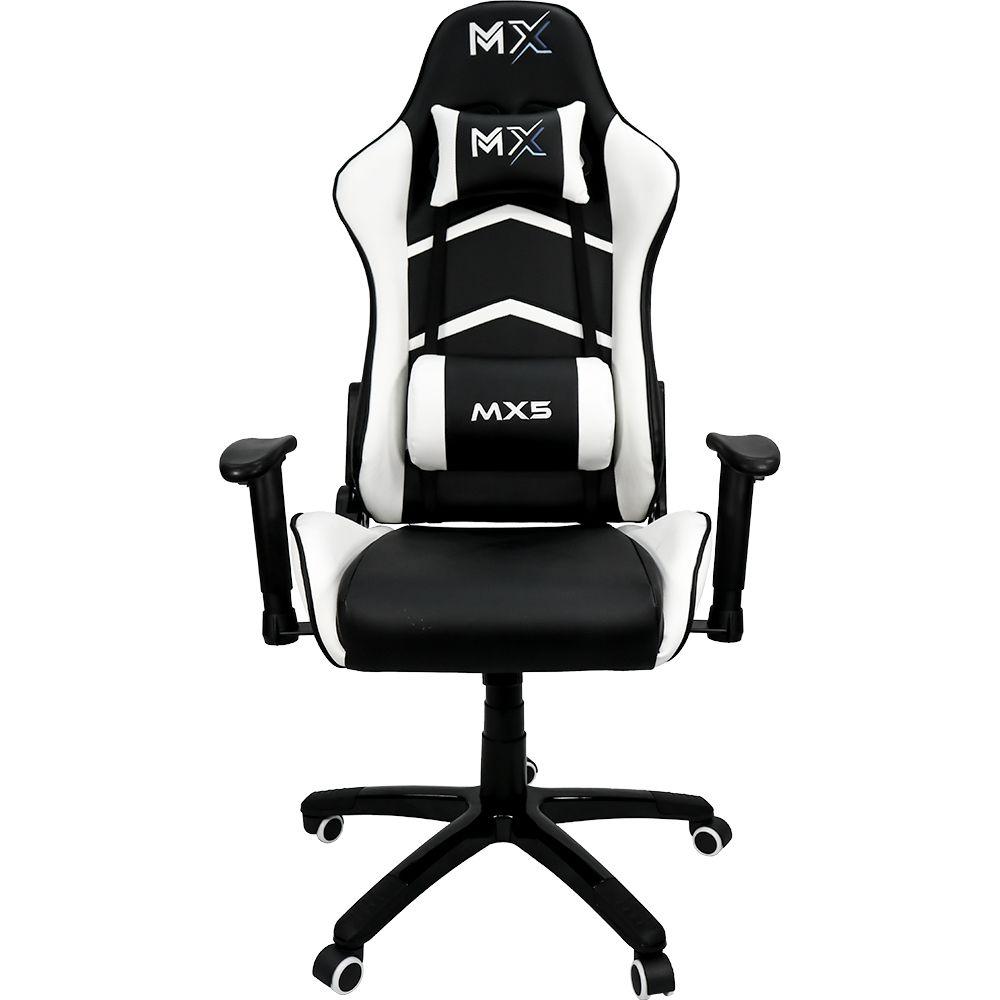 Cadeira Gamer MX5 Giratória 9177 Preto e Branco