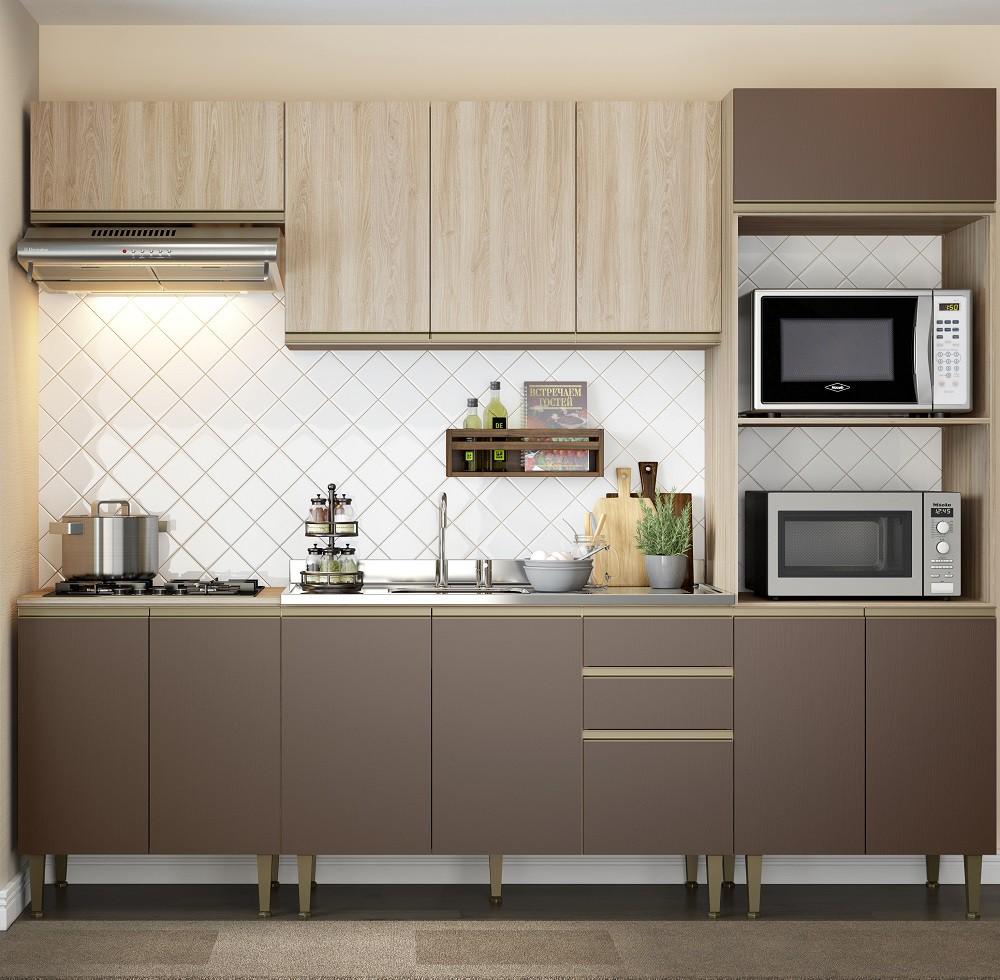 Cozinha Compacta com 5 Peças Cook 9004 Aveiro e Oxid
