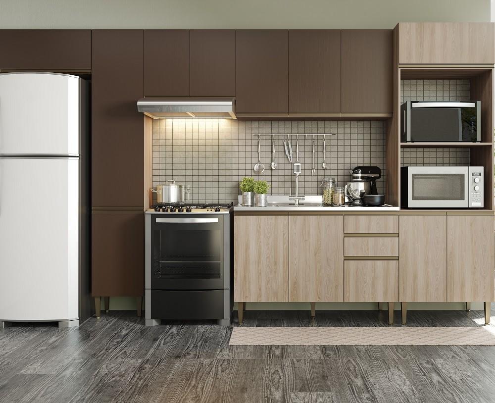 Cozinha Compacta com 6 Peças Cook 9003 Aveiro Oxid