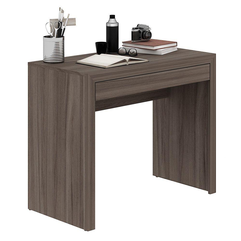 Mesa para Computador Escrivaninha ME4107 Tecno Mobili Carvalho