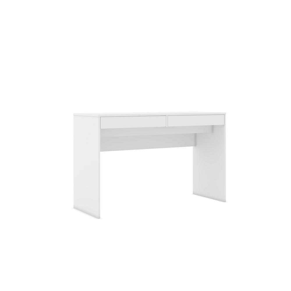 Mesa para Escritório com 2 Gavetas MSM 439 Branco