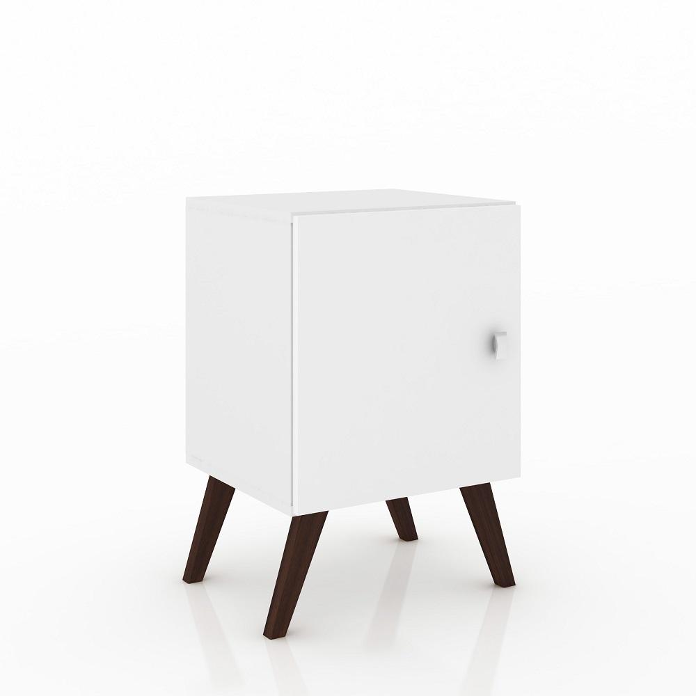Nicho Cubo Retro com Porta RT 3012 Branco
