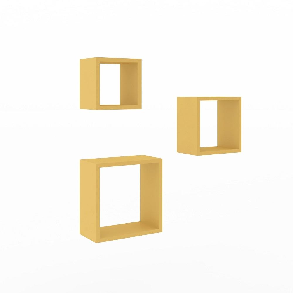 Nicho Trio AM 3078 Amarelo