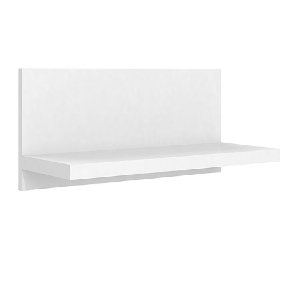 Prateleira Simples 54cm com Fixação Invisível PR 001 Branco