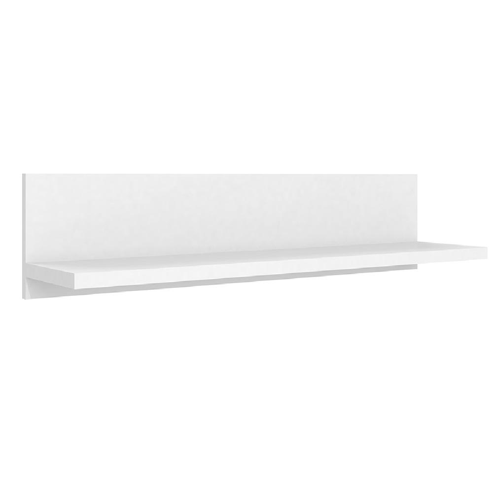 Prateleira Simples 90cm com Fixação Invisível PR 003 Branco