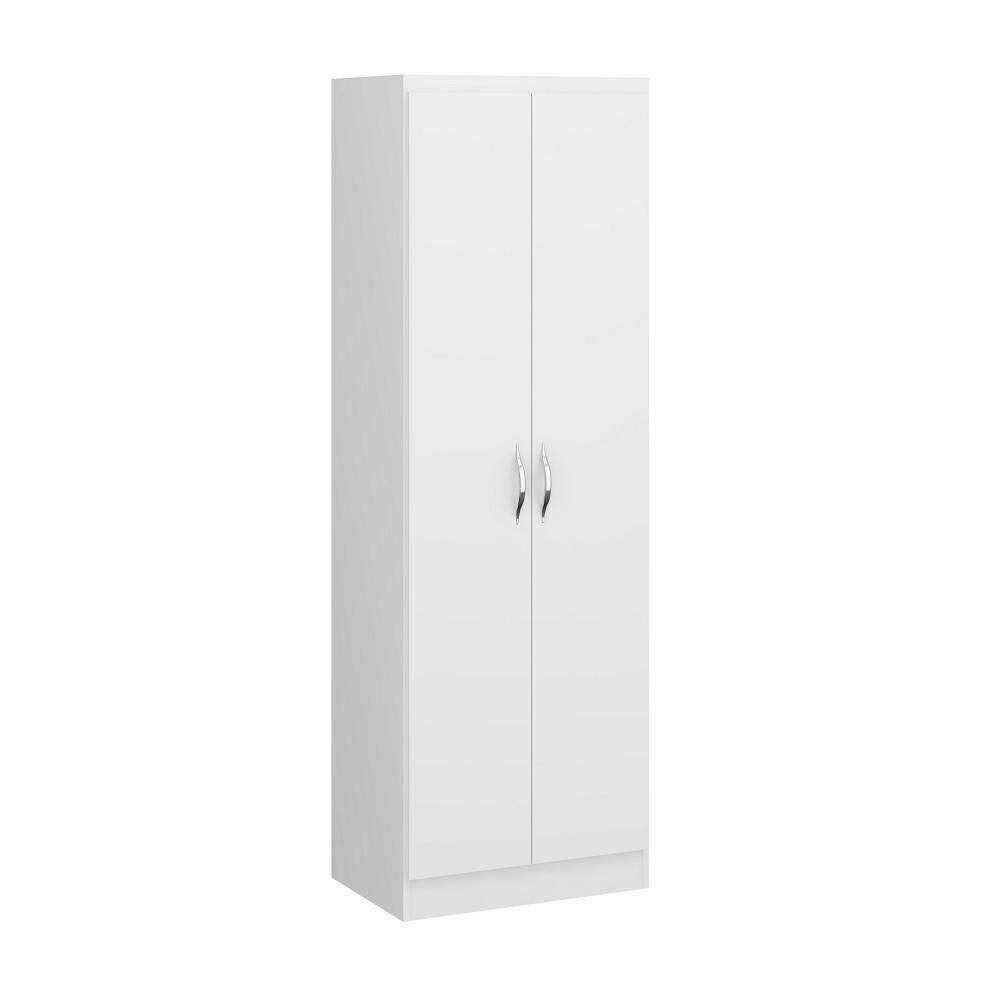 Sapateira com 2 Portas e Prateleiras 1011 Branco Soluzione