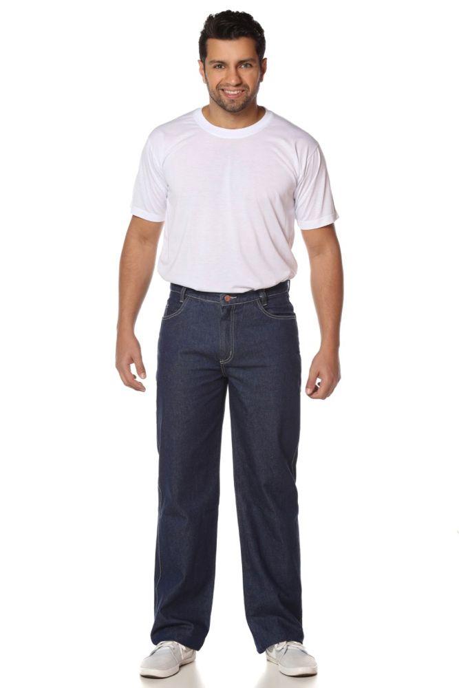 Calça jeans operacional