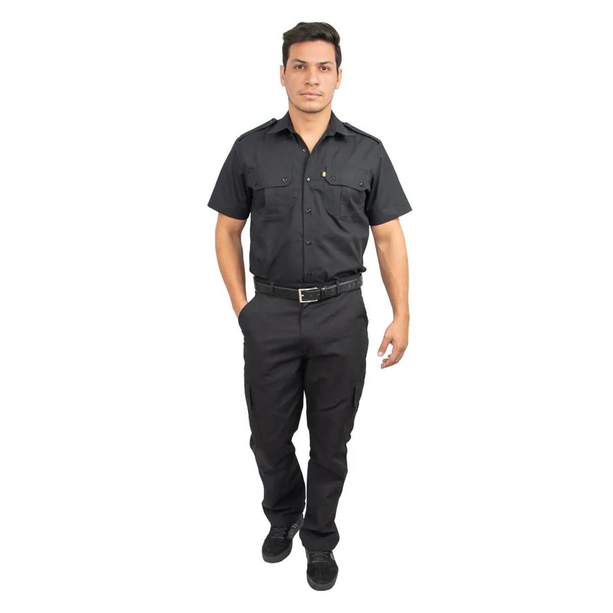 Calça Tática Masculina Rip Stop Segurança Vigilante