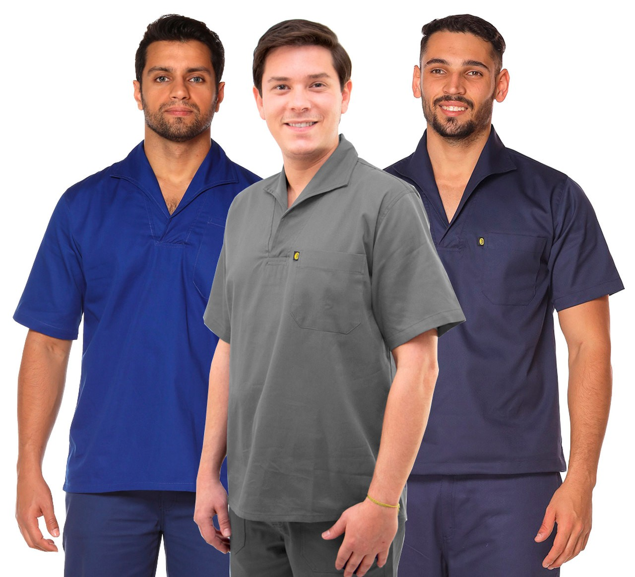 Camisa Operacional Brim Gola Italiana