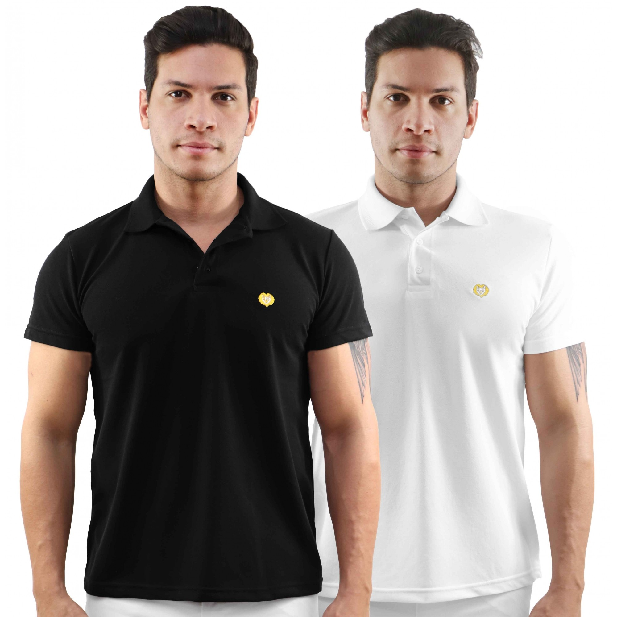 Camisa masculina Polo Leão
