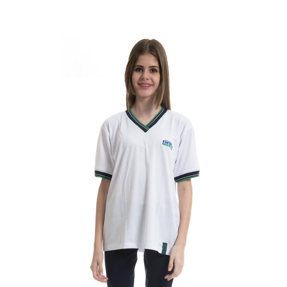 Camiseta manga curta em poliviscose - Colégio Dom Bosco